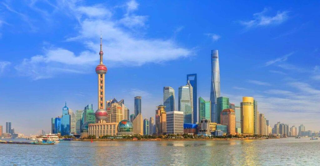 The Bund in Shanghai -